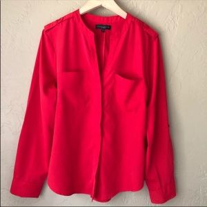Sanctuary Red Long Sleeve Top